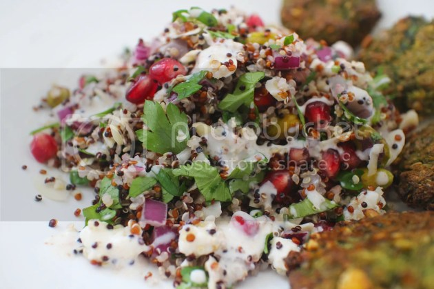 photo Herby Pomegranate Quinoa Salad 7_zps9e8wr6ui.jpg