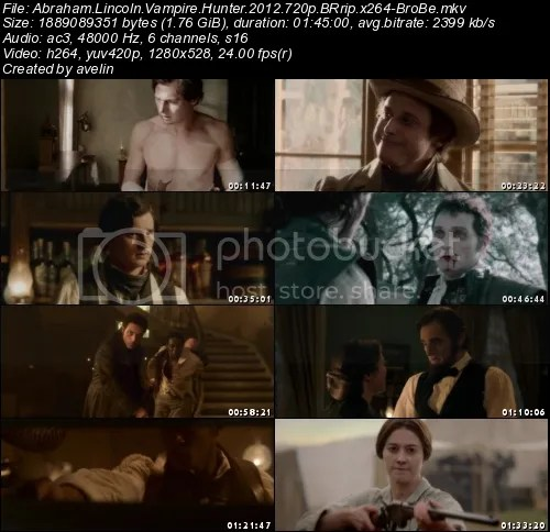 Abraham Lincoln Vampyr Hunter (2012) DVDRip XViD-commentiON