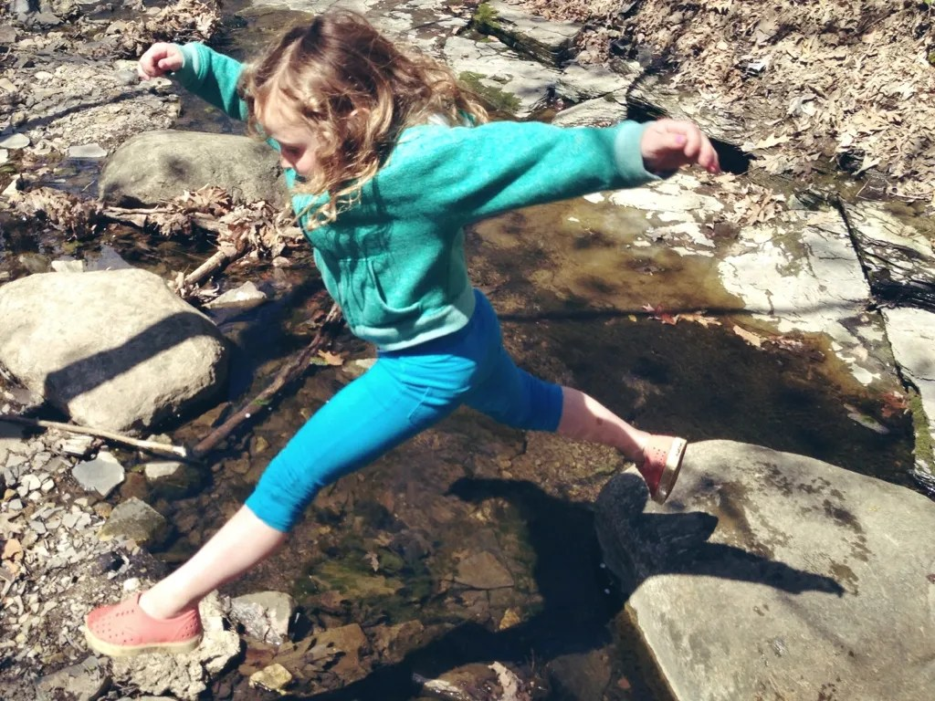 creek skipping