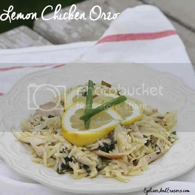 Lemon Chicken Orzo Easy Dinner Recipe photo ChickenOrzoLemon_zps60032df5.jpg