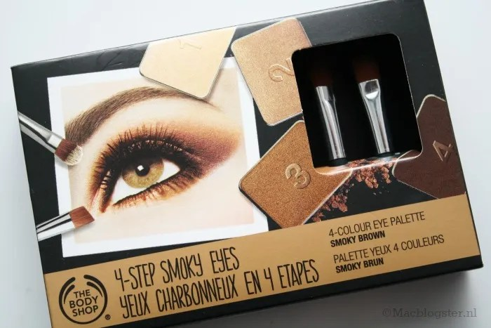 The Body Shop 4-Step Smokey Eyes palette: Smokey Brown photo TheBodyShop4-StepSmokeyEyespalette_zpsdb8a6086.jpg