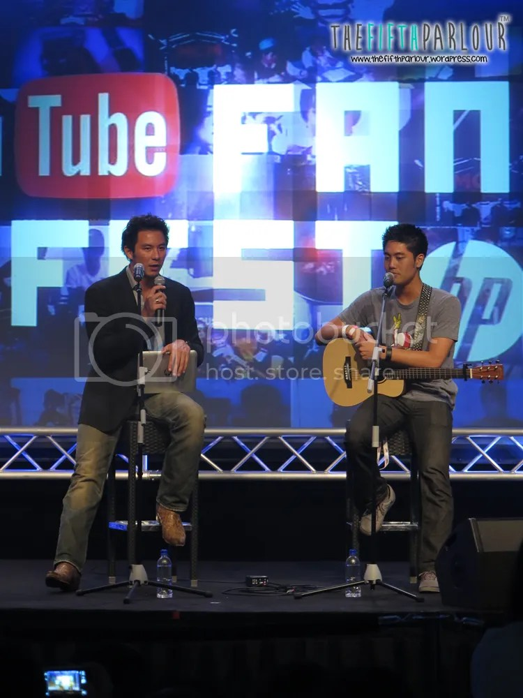 ryan higa, youtube fan fest, day 2, youtube, thefifthparlour