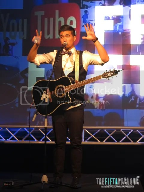 joseph vincent, thefifthparlour, youtube fanfest powered by HP 2013, youtube artist
