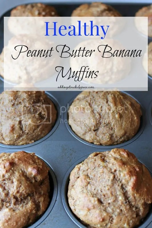 Packed with protein, these healthy peanut butter banana muffins are as delicious as they are pretty.