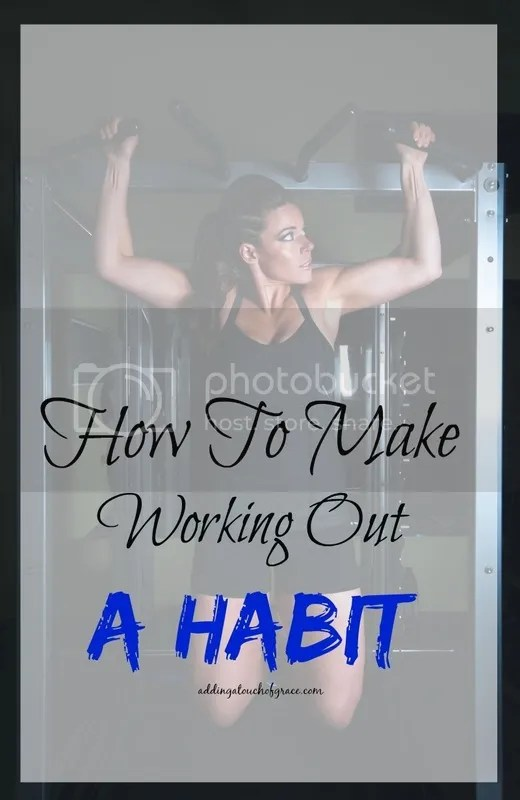 A few simple tips to make working out a habit. And a good one at that!