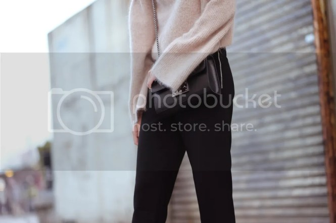 nude wool sweater