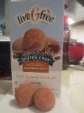 Aldi liveGfree Gluten Free Snickerdoodle Soft Baked Cookies