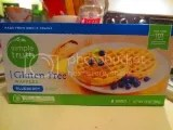 Simple Truth Gluten-Free Blueberry Waffles
