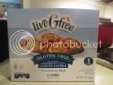 Aldi's liveGfree Gluten Free Cheese Ravioli