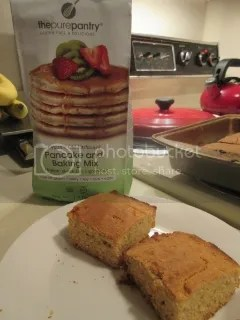 The Pure Pantry Gluten-Free Organic Old Fashioned Pancake and Baking Mix (with Gluten-Free and Dairy-Free Cornbread)