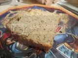 A slice of Katz Gluten Free Lemon Poppy Loaf