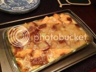Gluten Free Lemon Bread Pudding