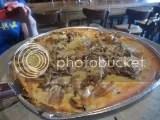 Max's Coal Oven Pizzeria's Gluten-Free Fontina & Funghi Pizza