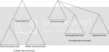 Active Directory Domain Tree