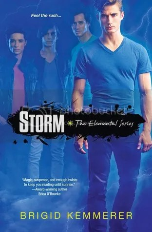 Storm by Brigid Kemmerer Review - Cover - Paranormal water