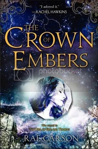 Crown of Embers by Rae Carson Cover - Review