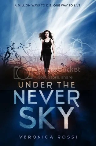 Under the Never Sky by Veronica Rossi - Miss Book Reviews