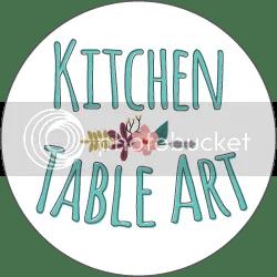 Kitchen Table Art