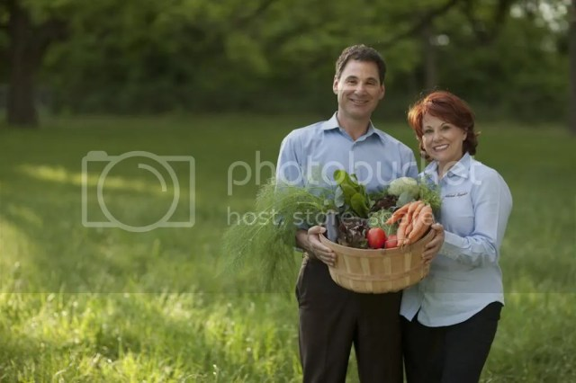 Couple in Garden