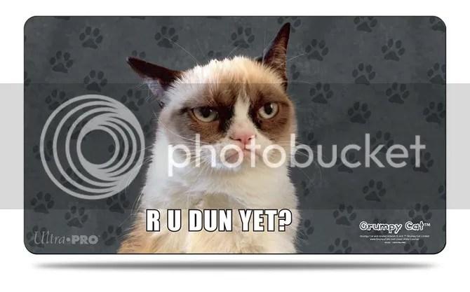 Grumpy Cat Game Mat