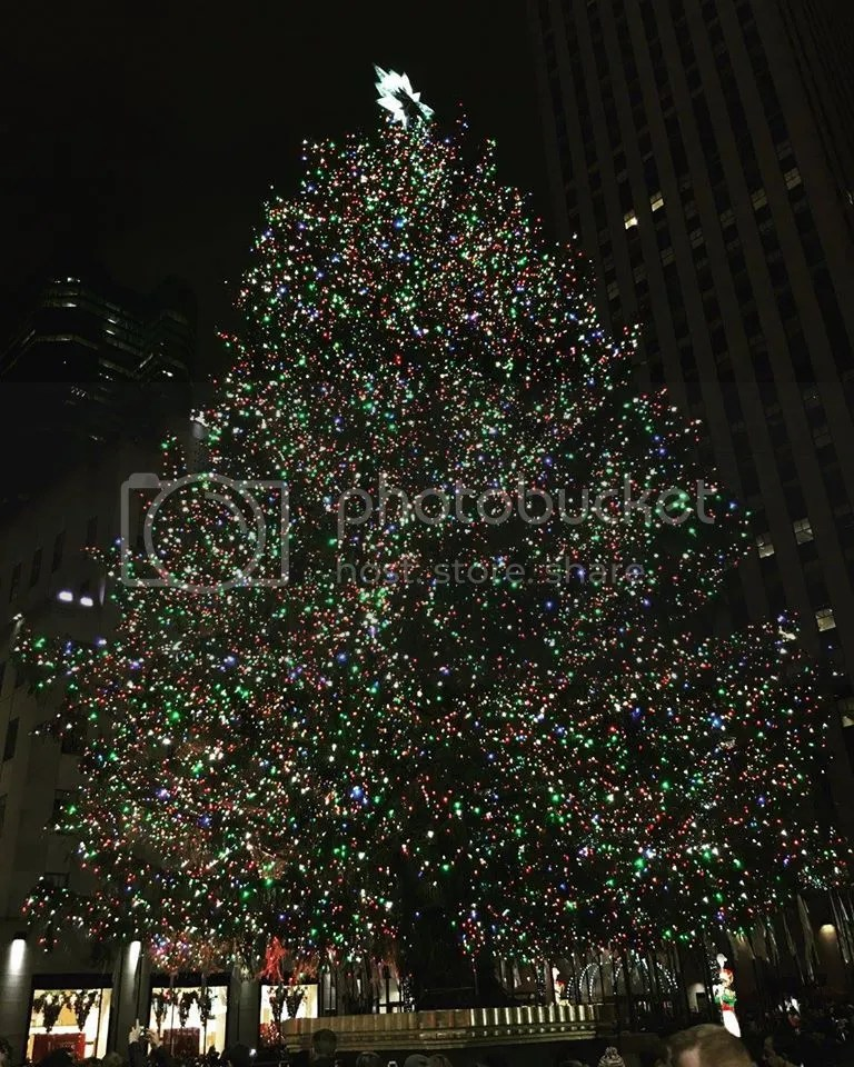 Rockefeller Christmas Tree 2015