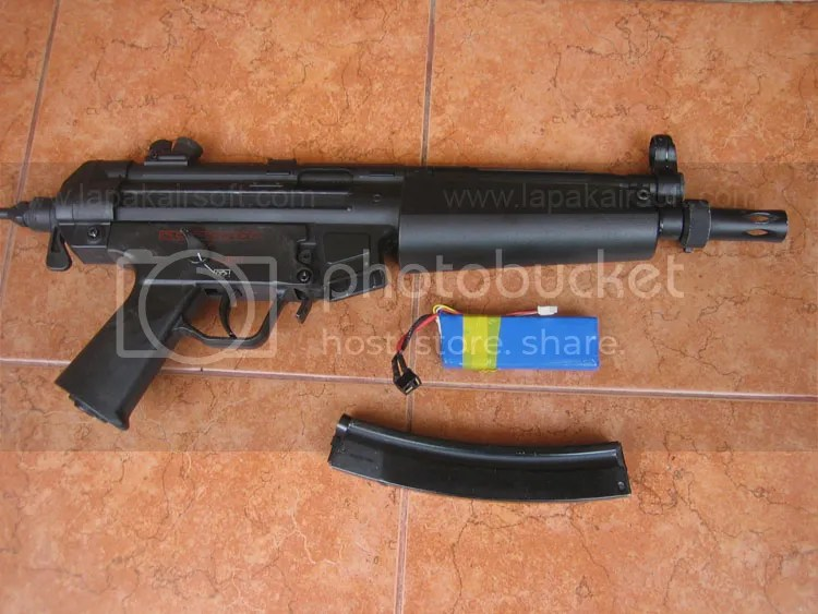 Jual Airsoft Second : JG MP5J