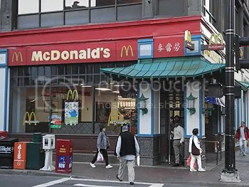 McDonald's in Chinatown