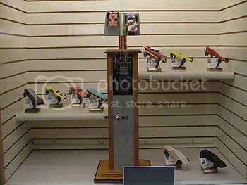 2007 Pinewood Derby Display