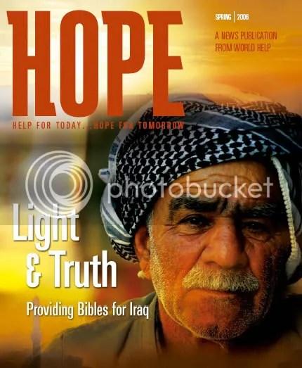 مجلة منظمة وولد هيلب التنصيرية و�ملتها على الاسلام في العراق