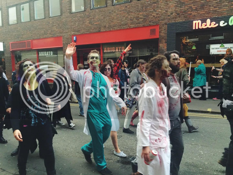 Zombie Walk London 2015