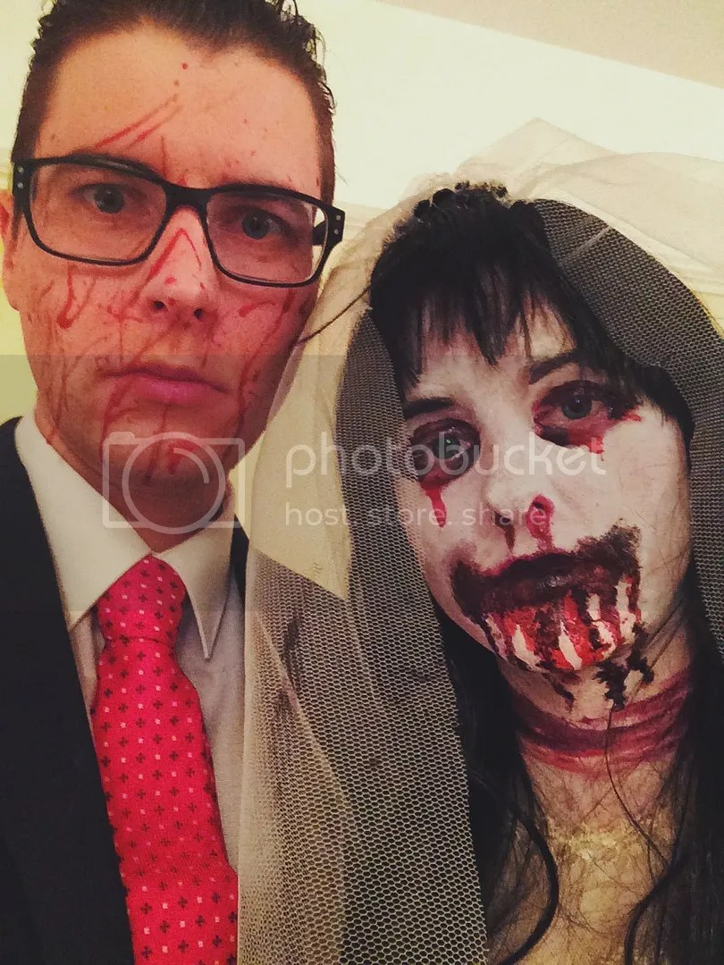 Patrick Bateman from American Psycho and Madeleine O'Malley