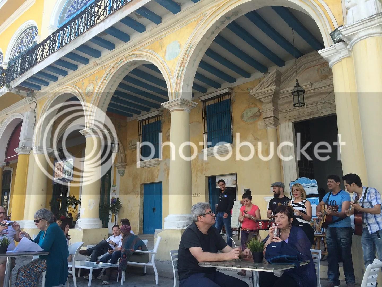 Vegan cafe in Havana, Cuba