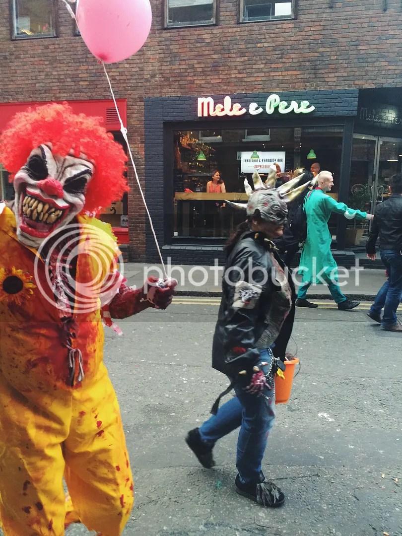 zombie walk ronald mcdonald