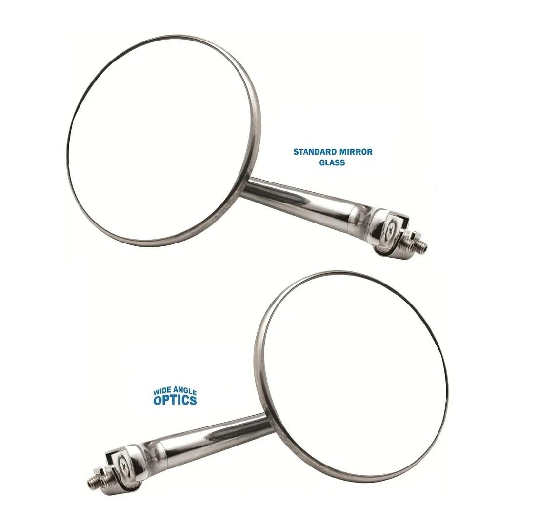 4 Convex Straight Arm Peep Mirror Outside Side Door Frame