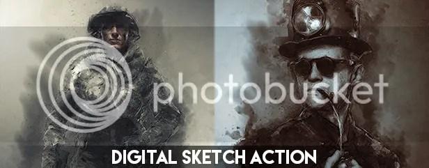 Pencil Sketch Photoshop Action - 16