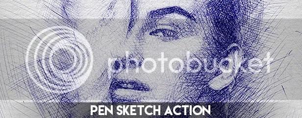 Pencil Sketch Photoshop Action - 29