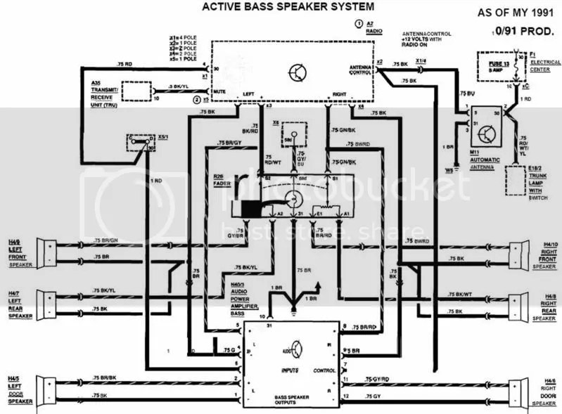 Radio Wiring Diagram 190e