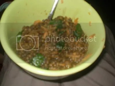 lentil soup/stew thing