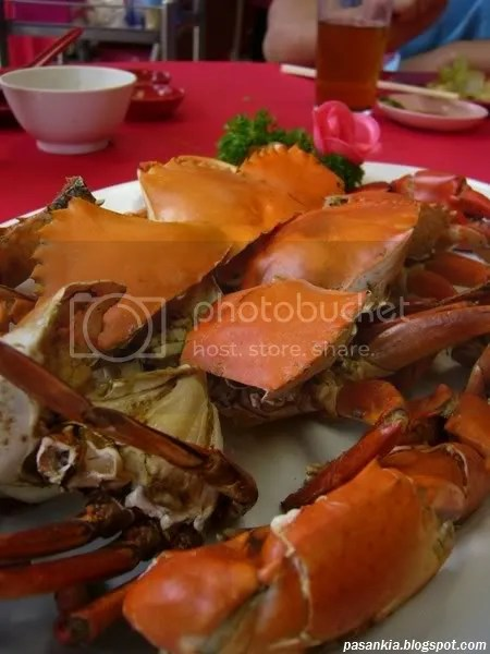 Salt Bake Crab