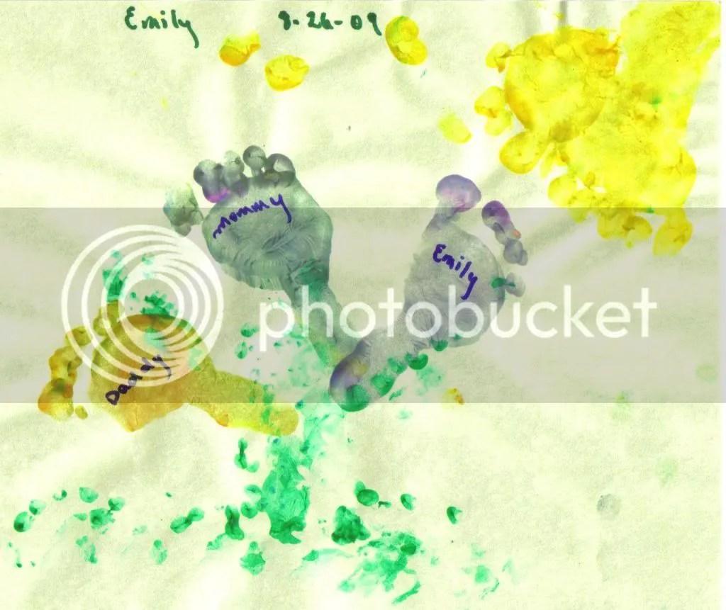 Emily Footprints