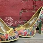 DIY Decoupage Vintage Heels