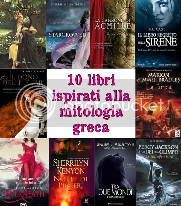Libri ispirati alla mitologia greca