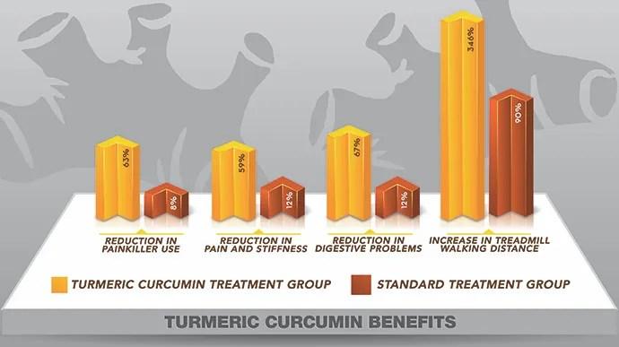 Turmeric Curcumin Graph