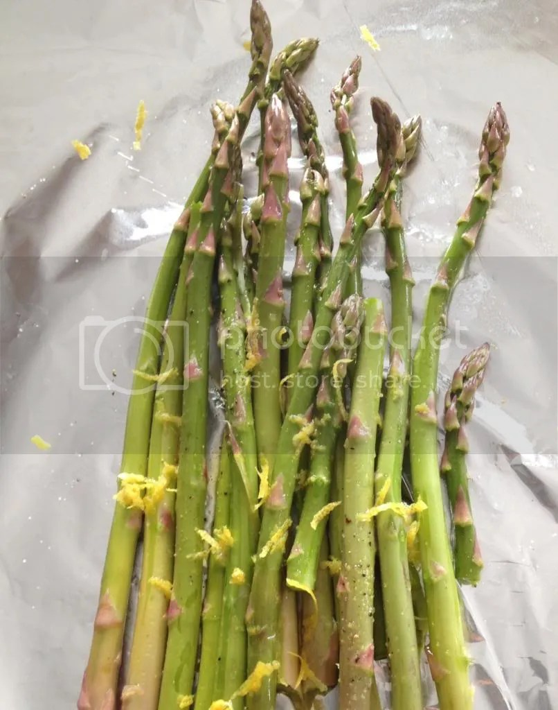 Easy Barbecued Asparagus