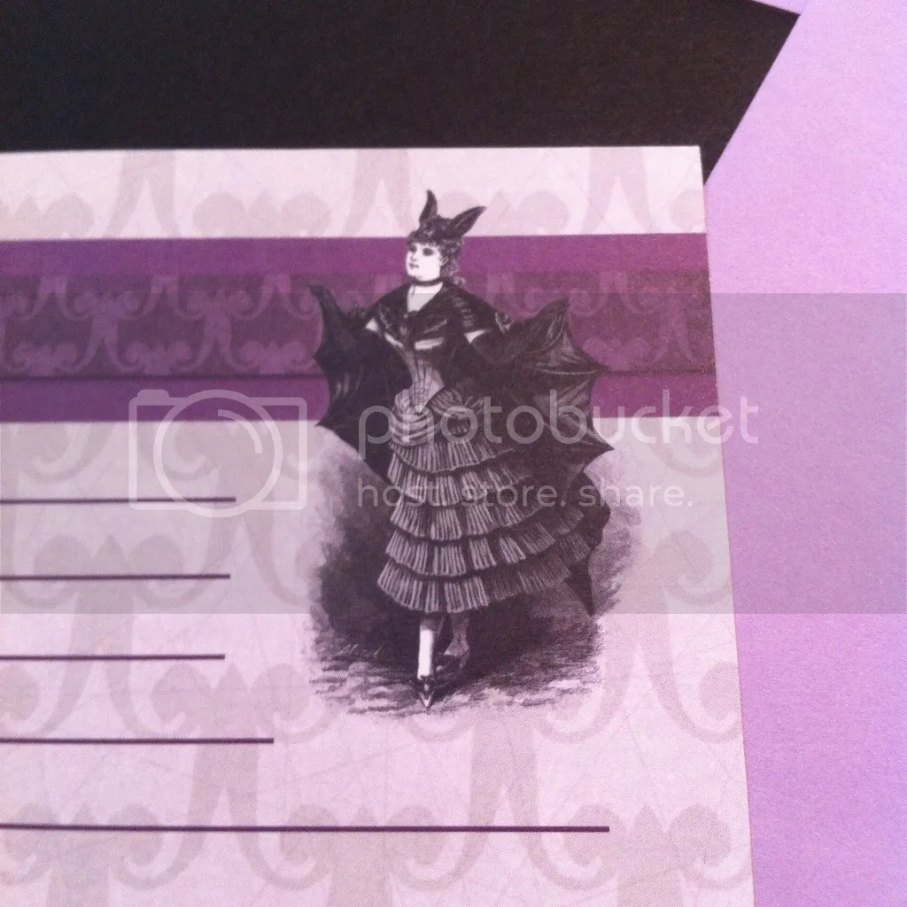 Madam Bat Letter Writing Stationary from La Papierre