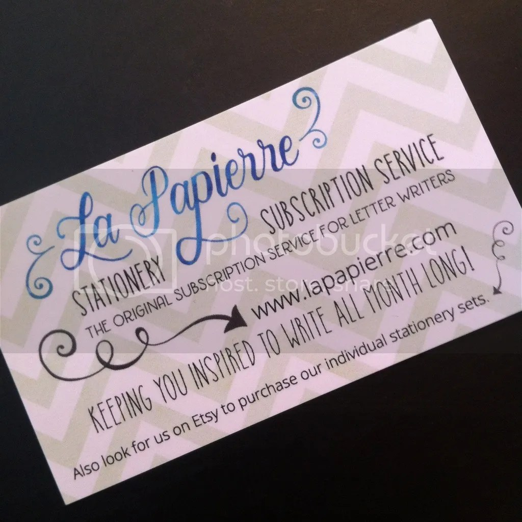 La Papierre Stationary Subscription Service