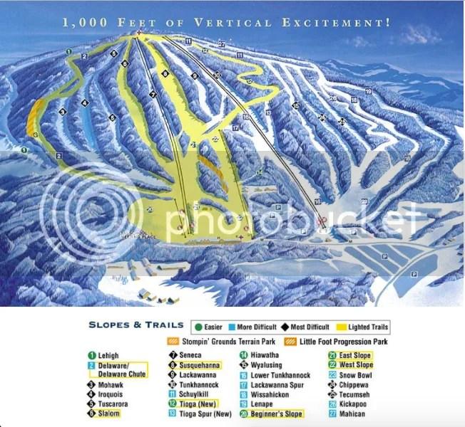 Elk Mountain Trail Map