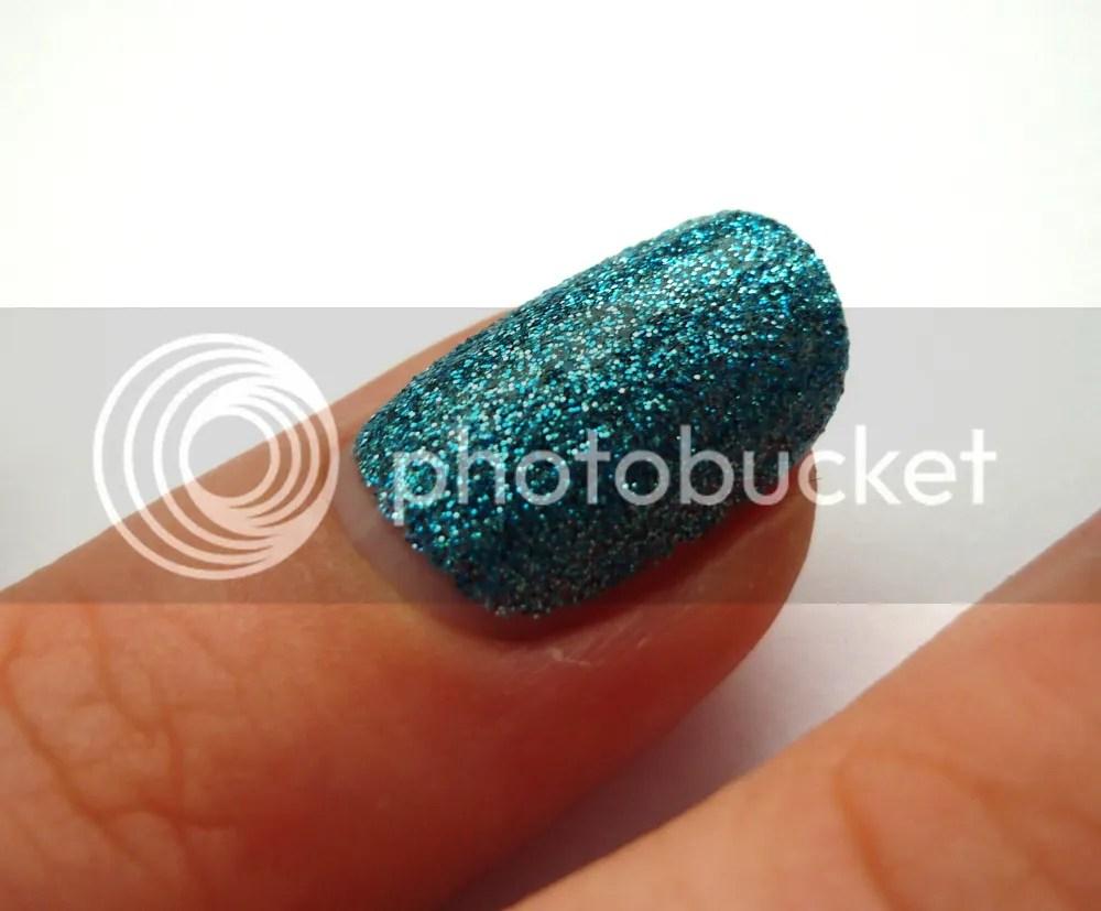 Milani Blue Flash Swatch La Moon Nails