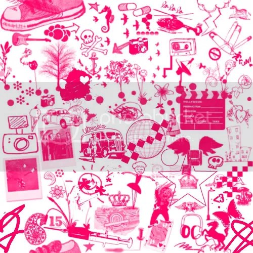 Myspace Background Backgrounds Pink White Cute Emo Collage ...