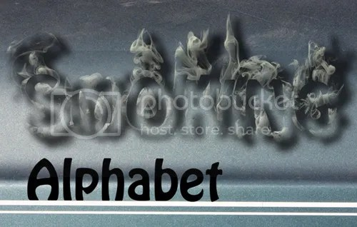 Smoking Alphabet